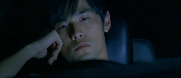 Takumi (Jay Chou) is bored.