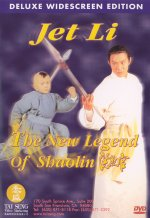 Front cover of The New Legend of Shaolin DVD.